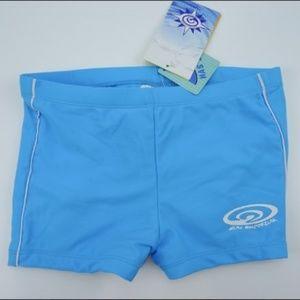 Sun Emporium Boy Short Bikini Bottom UPF50+ NWT